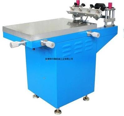 Suction Manul Printing Machine
