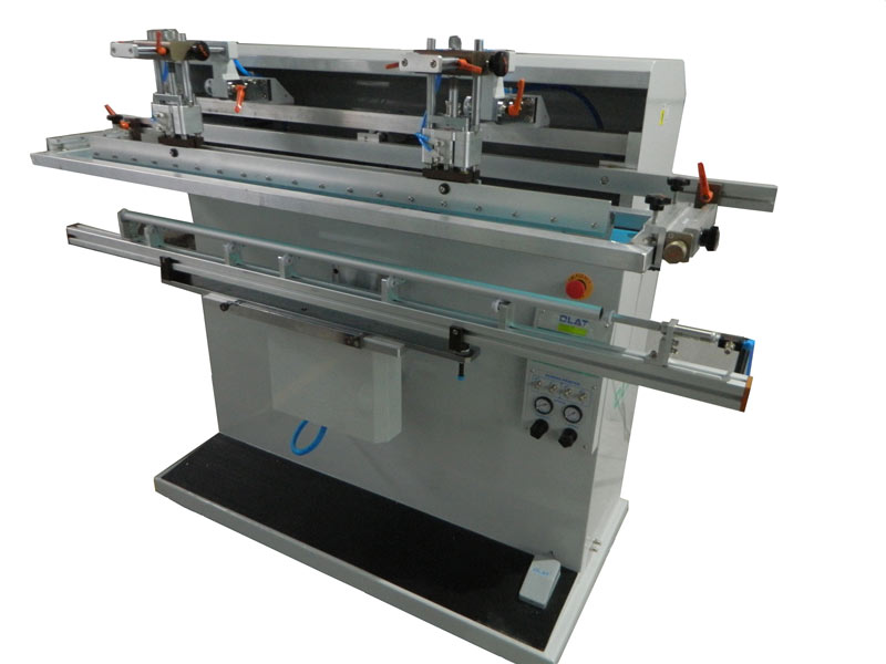 1300mm Long Tube Round Face Silk Printing Machine