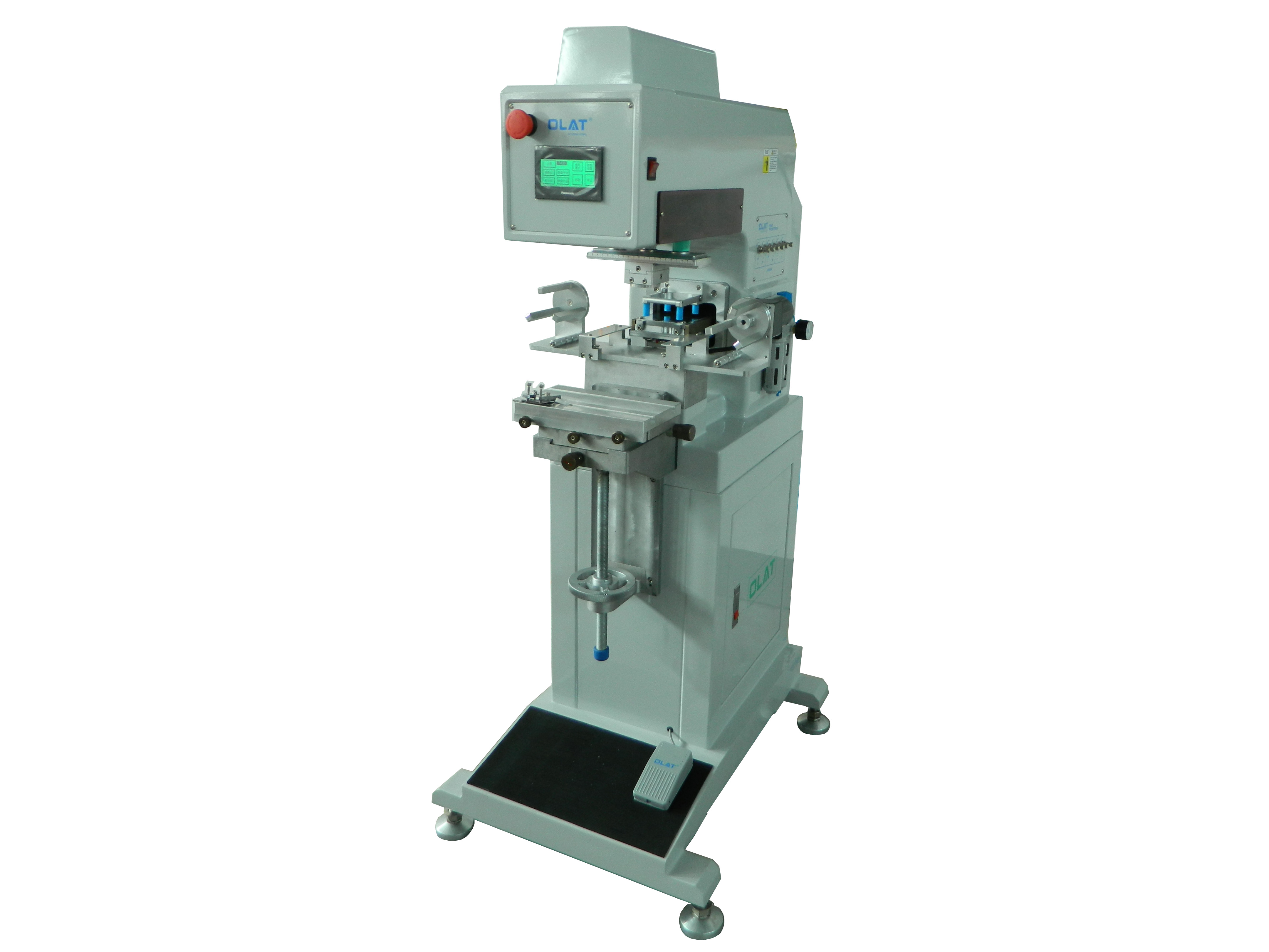 OAP - 161 e monochromatic oil cup PLC with clean pad printing machine